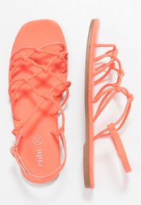 Rubi Shoes by Cotton On - LADYLIKE STRAPPY  - Sandály - neon coral - 3