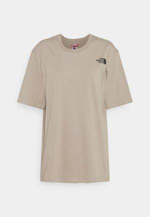 TEE - Print T-shirt - mineral grey