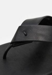 Pier One - T-bar sandals - black - 5