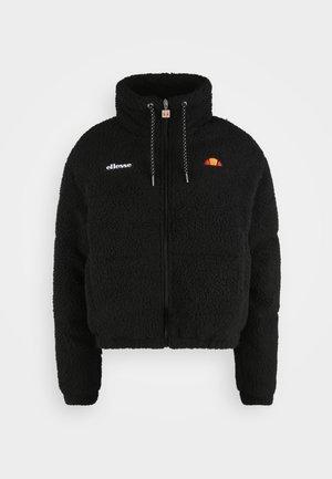 MOLLIS - Fleece jacket - black