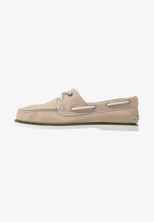 CLASSIC BOAT - Boat shoes - light taupe