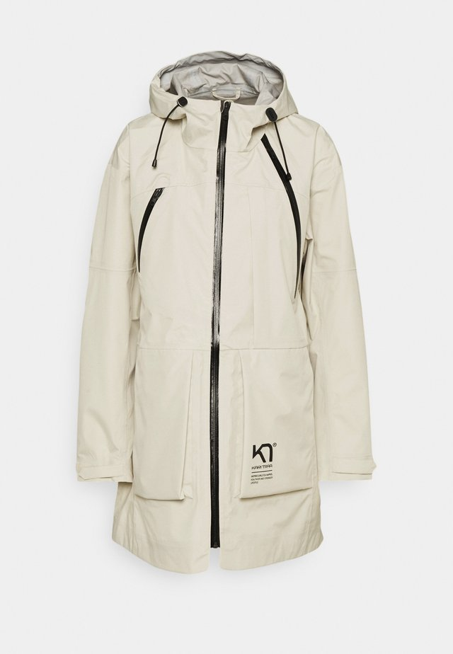 HERRE JACKET - Hardshell-jakke - off-white
