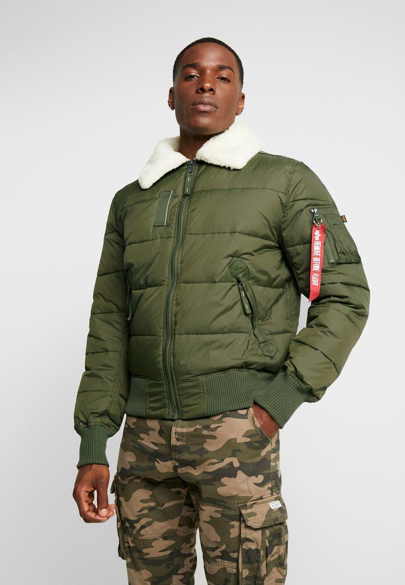 Alpha Industries - INJECTOR III PUFFER - Light jacket - dark green