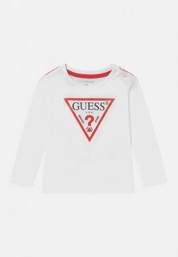 CORE UNISEX - Long sleeved top - true white