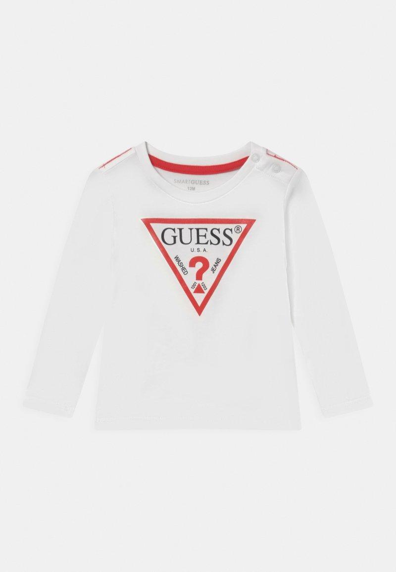 Guess - CORE UNISEX - Longsleeve - true white