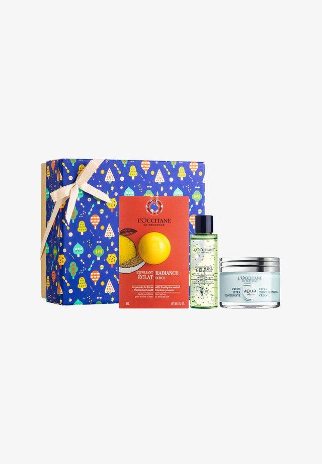 GESICHTSPFLEGE-GESCHENKBOX AQUA REOTIER XMAS 19 - Skincare set - -