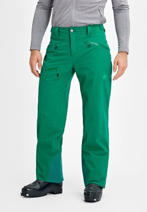 STONEY - Snow pants - deep emerald