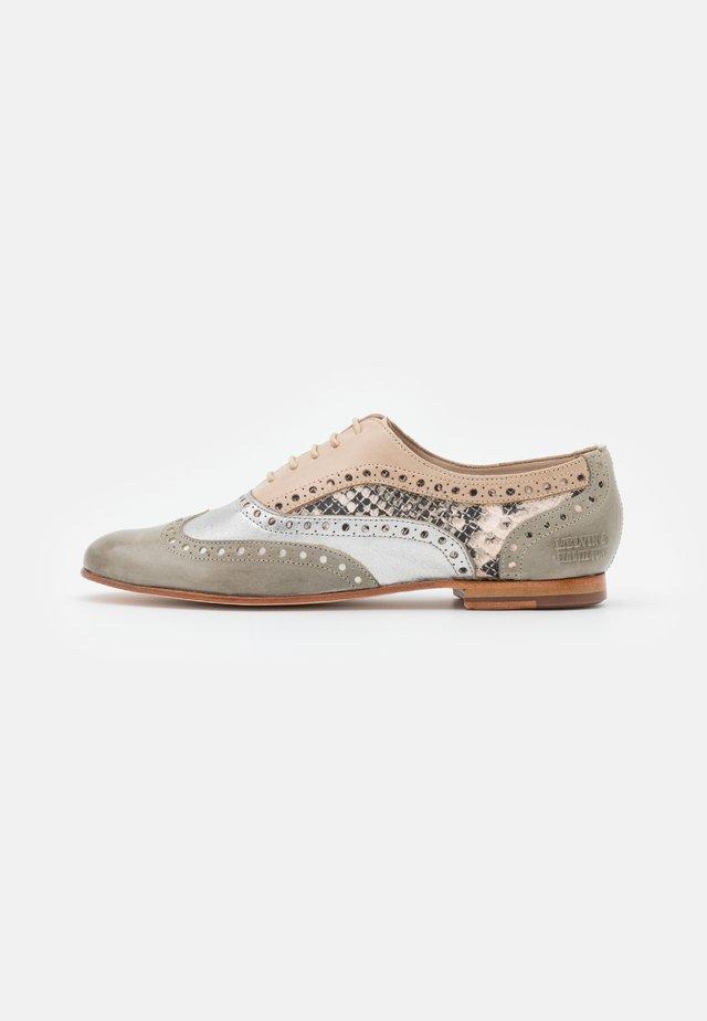 SONIA 1 - Šněrovací boty - light grey/talca/steel/ivory/natural