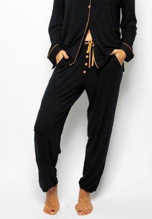 Pyjama bottoms - black