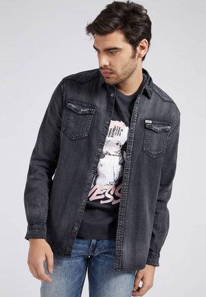 SLIM - Shirt - schwarz