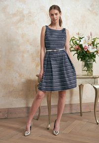Swing - Cocktail dress / Party dress - marine /silber - 4