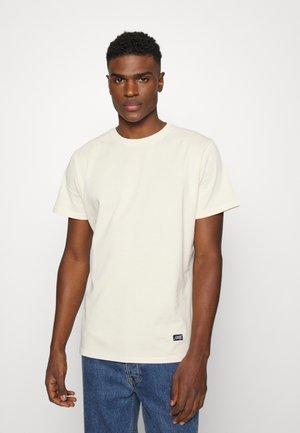 BOX LOGO TEE - T-shirt basique - light sand