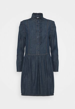 Denim dress - denim blue