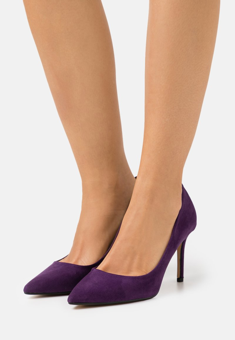 Dorothy Perkins Wide Fit - WIDE FIT DELE POINT STILETTO - Classic heels - purple
