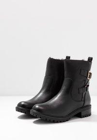 Dorothy Perkins - ALOHA BACK BUCKLE - Classic ankle boots - black - 4