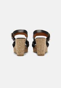 Kanna - SONIA - Platform sandals - schwarz - 3