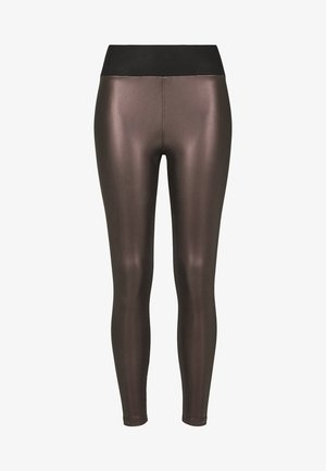 Leggings - Trousers - redwine