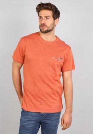 T-shirt basique - papaya