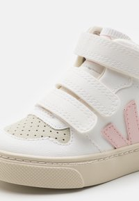 Veja - SMALL MID - High-top trainers - white petale/marsala - 5