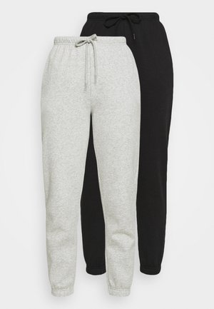 PCCHILLI PANTS 2 PACK - Pantalones deportivos - black