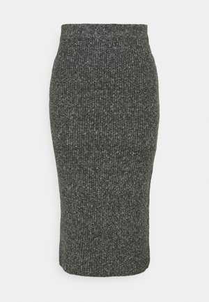 KABETINA SKIRT - Pencil skirt - dark grey melange