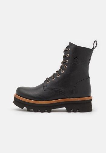 MIREN  - Lace-up ankle boots - black