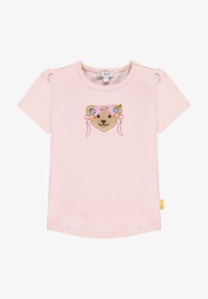 BUGS LIFE MIT GROSSEM BÄR MIT BLUMENKRANZ - Print T-shirt - almond blossom