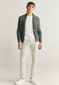 Mango - PISA - Trousers - beige - 1