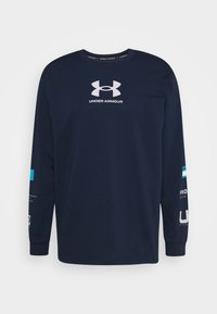 Under Armour - MULTI LOGO - Long sleeved top - academy/halo gray - 5