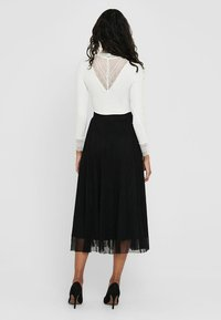 ONLY - Pleated skirt - black - 2