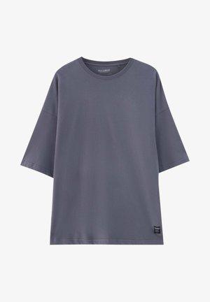 Jednoduché triko - mottled light grey
