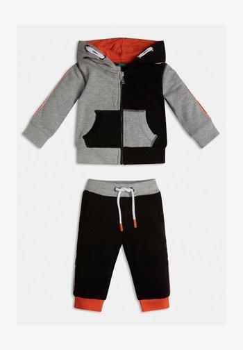 SET  - Zip-up sweatshirt - schwarz