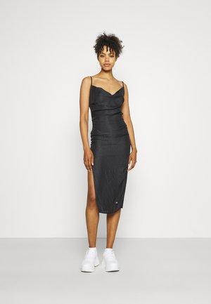 LEOPARD DRESS - Cocktail dress / Party dress - black