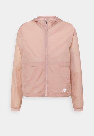Běžecká bunda - saturn pink
