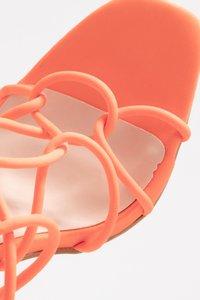 Public Desire - SAVY - Sandály na vysokém podpatku - orange - 2