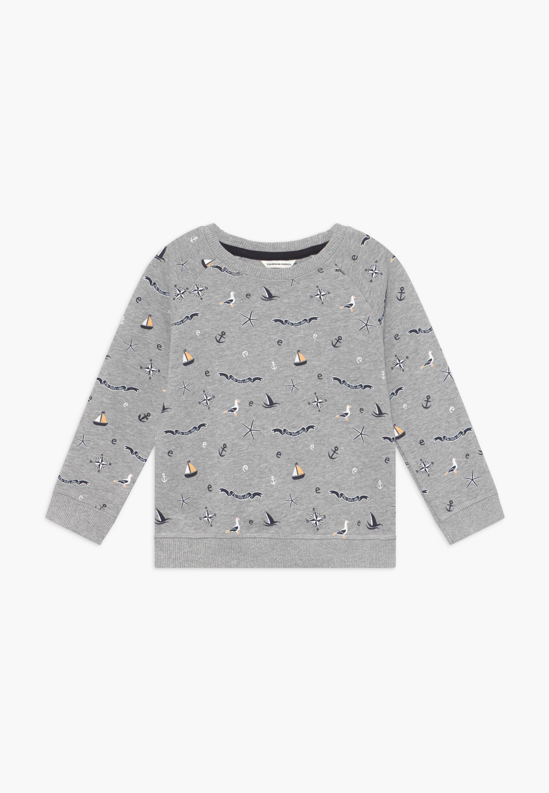 Große Förderung Ebbe RAMSEY - Sweatshirt - mottled light grey/dark blue   Damenbekleidung 2020