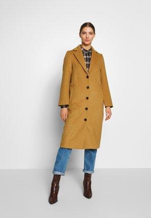 OBJRANDY LONG COAT  - Zimní kabát - humus