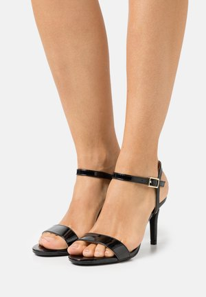 SIZZLE 2 PART SKINNY - Sandalias - black