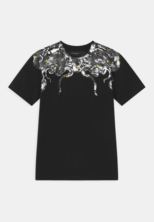 CAMOU SNAKE - T-shirt con stampa - black