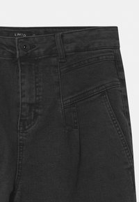LMTD - Džíny Relaxed Fit - black denim - 2