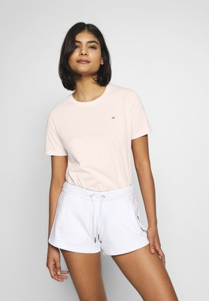 SMALL LOGO EMBROIDERED - Basic T-shirt - perfect peach