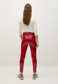 Mango - ESTHER-I - Trousers - rood - 2