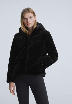 REVERSIBLE - Winter jacket - black