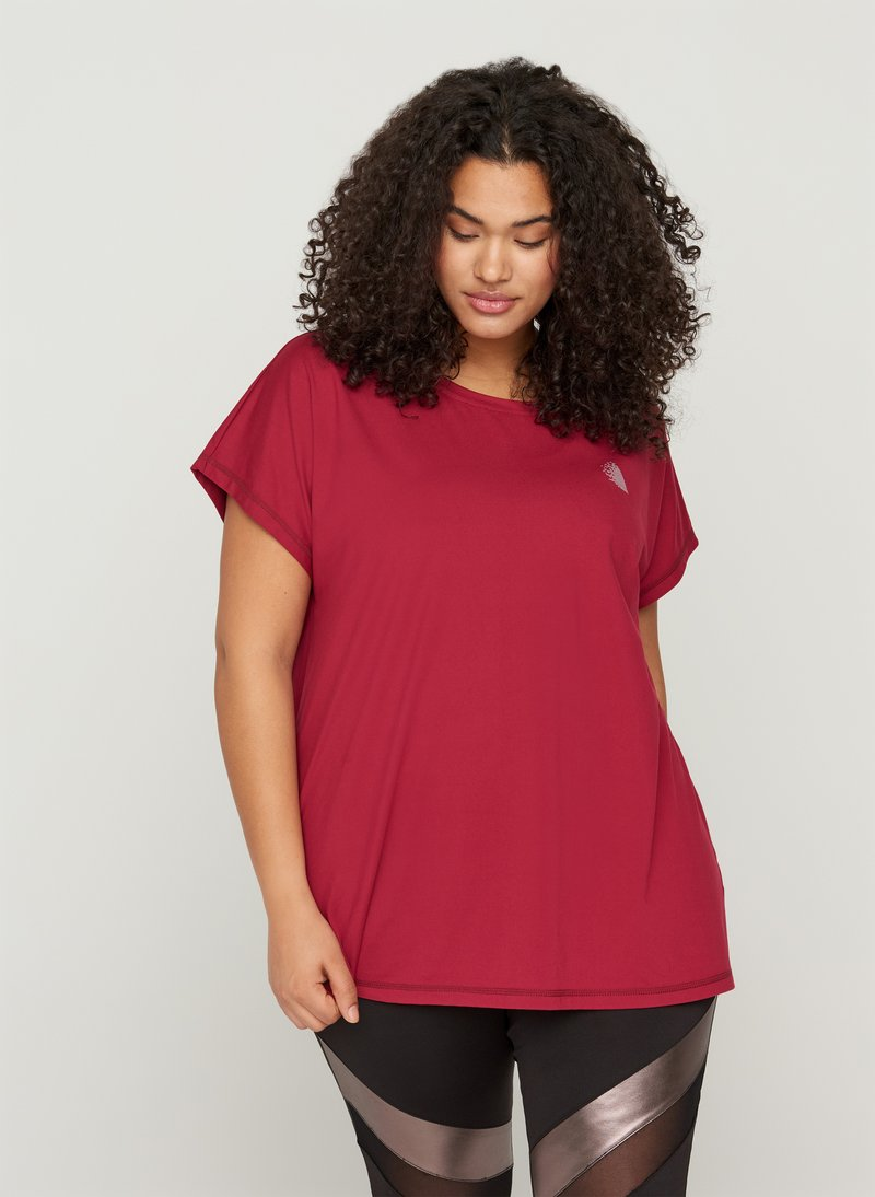 Active by Zizzi - Print T-shirt - red