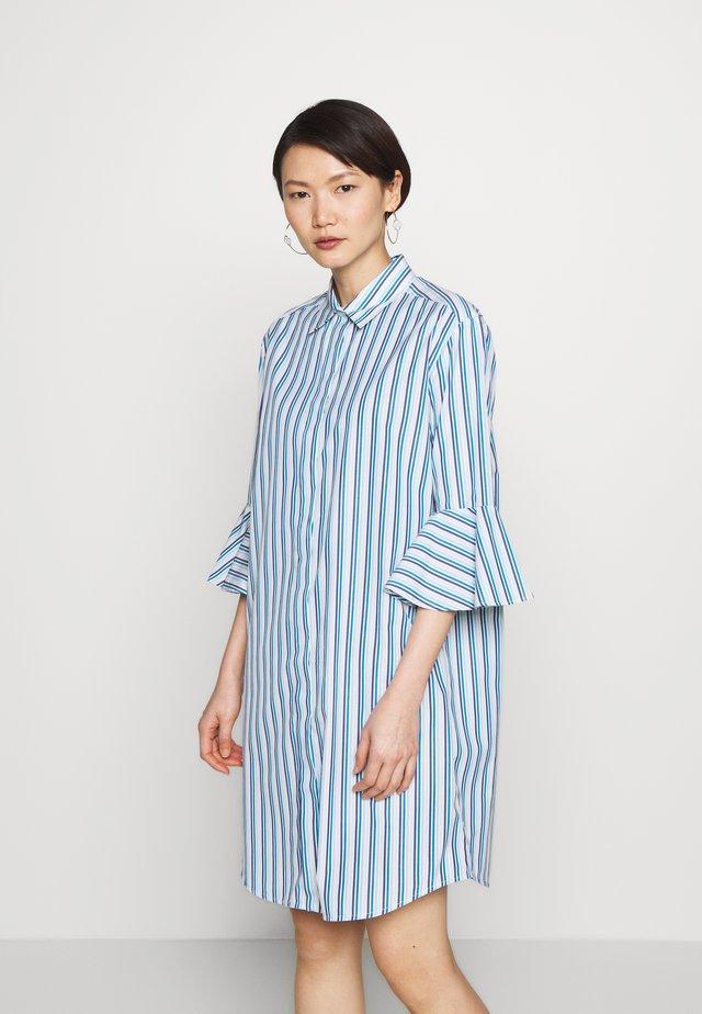 SERRA - Abito a camicia - azurblau