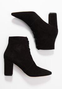 LK Bennett - LIRA - Šněrovací kotníkové boty - black - 3