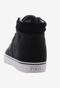 Polo Ralph Lauren - SHAW - Baskets montantes - black - 3