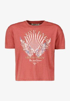Camiseta estampada - rusty rose