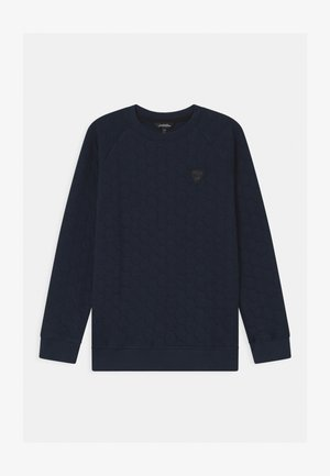 HEXAGON QUILTED - Sweater - blue hera