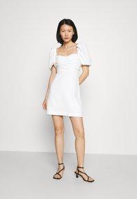 Cinq à Sept - ODELE DRESS - Korte jurk - ivory - 1